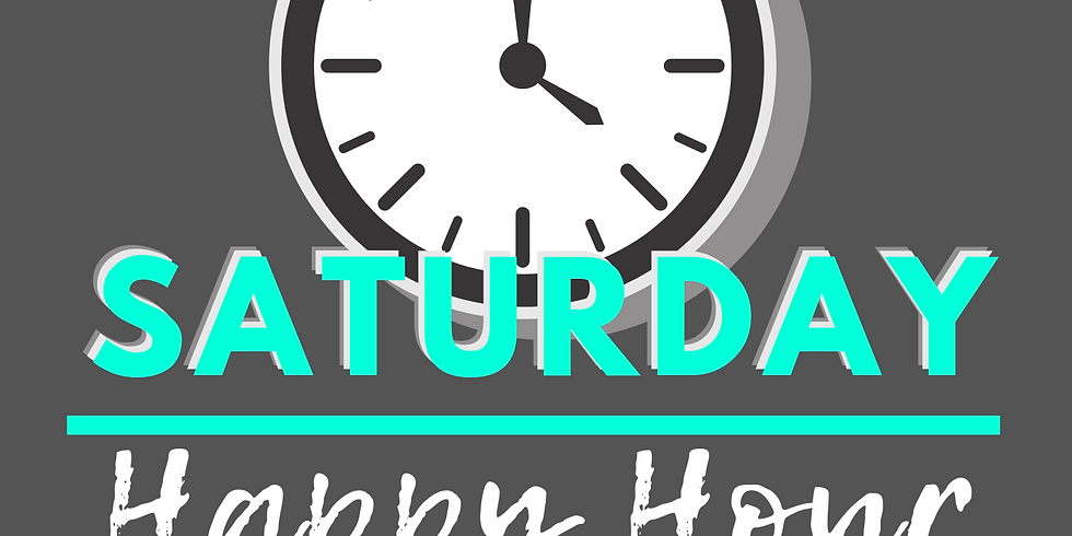 saturday happy hour 3:00-5:00p