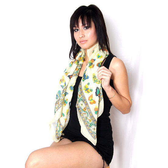 All-Over Butterfly Scarf