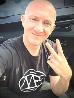 DJ Vango Rockin the MB Logo T-Shirt!