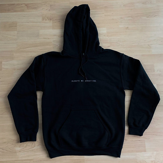 """ALWAYS BE CREATING."" MB Logo Unisex Hoodie"