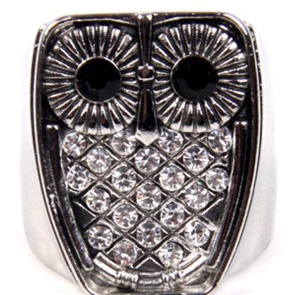 Owl Shiny Ring