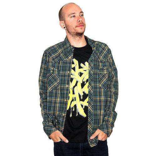 STISKA Sundance Slim Fit Collared Button Up Long Sleeve Shirt
