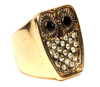 Owl Shiny Ring