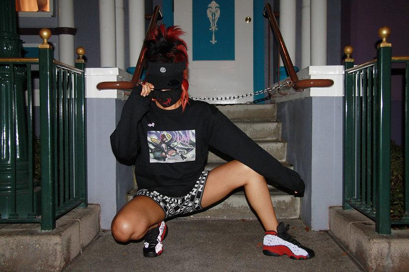 "UNISEX ""Missy B Graffiti"" Sweatshirt"