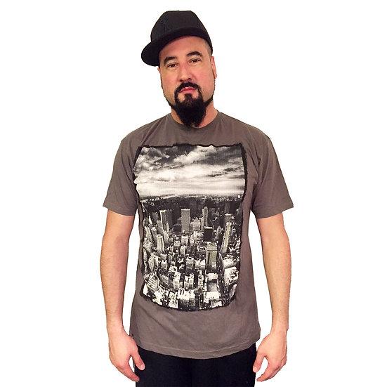LIRA Cityscape Ariel Crew Neck Short Sleeve Shirt (Men's)