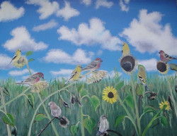 A Flock of Finches