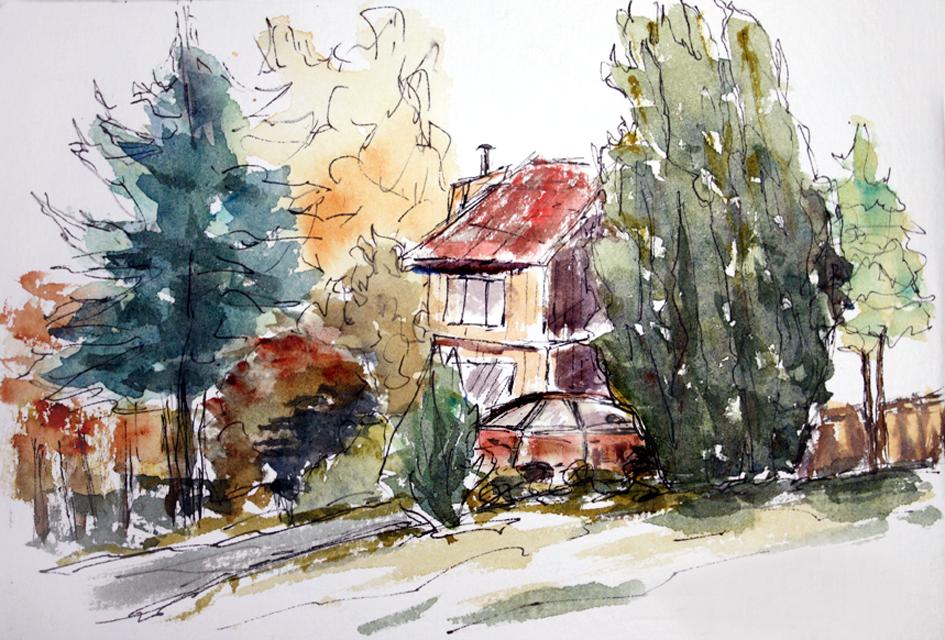 Neighbourhood - Plein Air