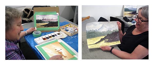 Ian de Hoog watercolour workshop02