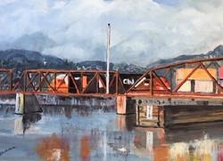 CPR Bridge Over Fraser River