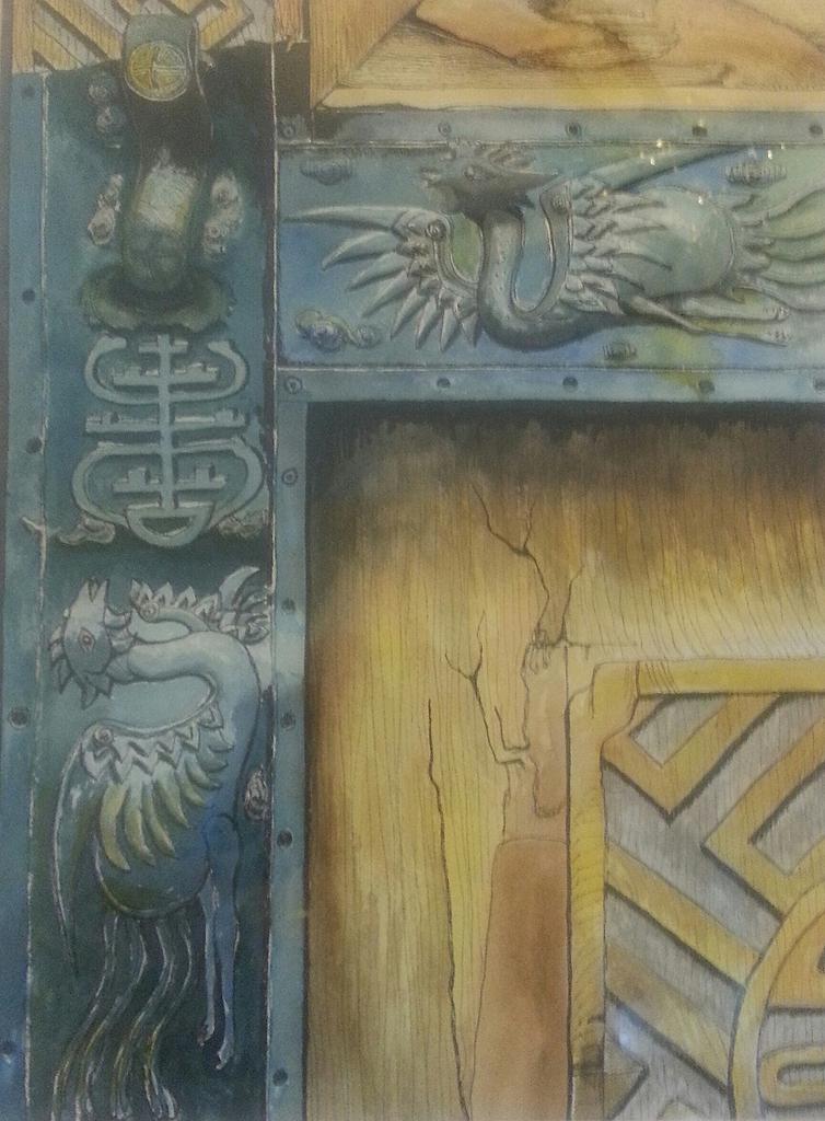 Summer Palace Door, Beijing