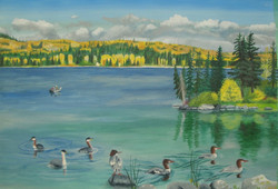 Fishers on Eagan Lake