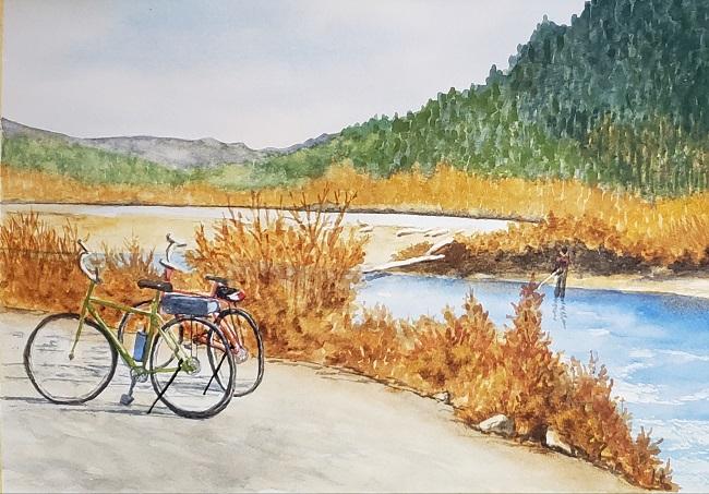 Vedder River Biking