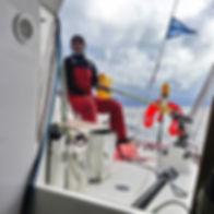 Skipper professionnel convoyage voilier bateau