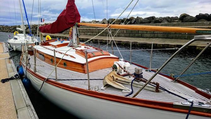 Pleg mor un voilier classique Cornu