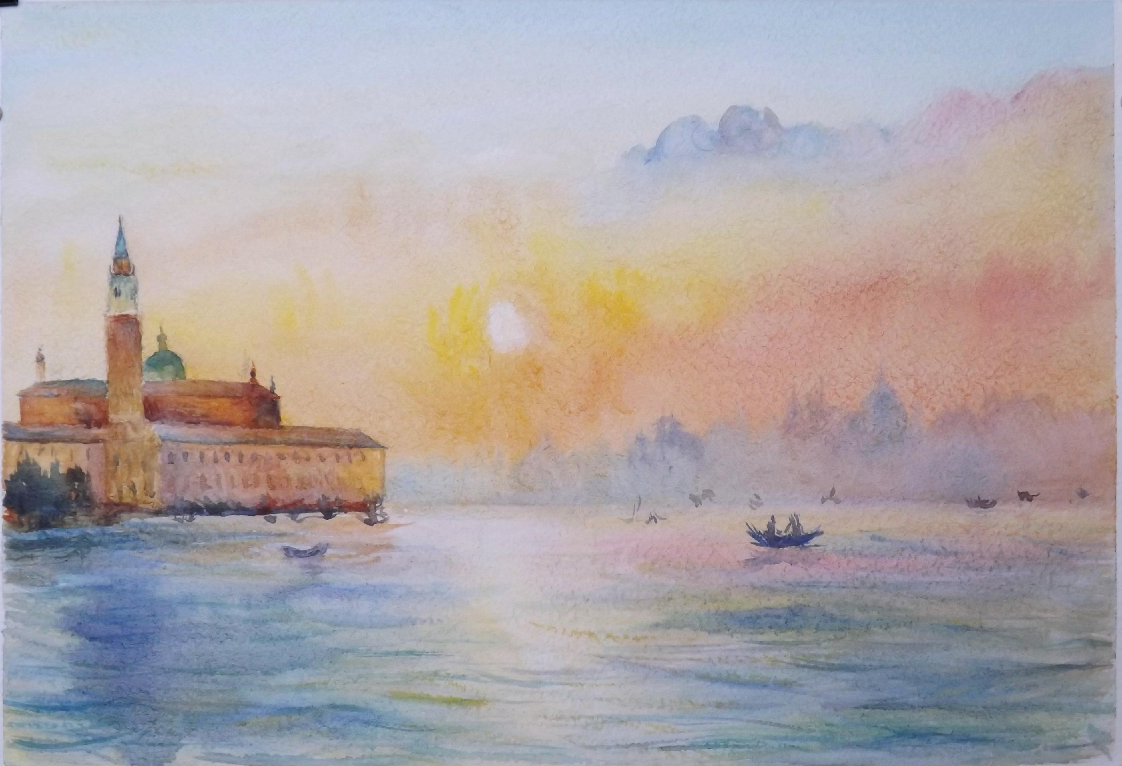 Венецианская нежность,21 х 30