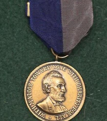 Abe Lincoln Commemorative Medal