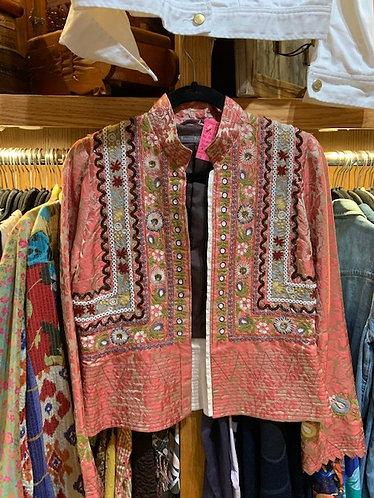 Silk Beaded Jacket