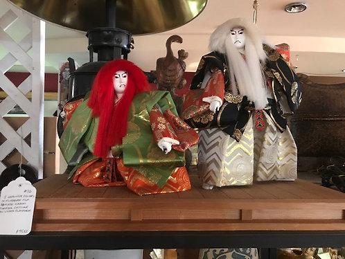 Japanese Kabuki Figures