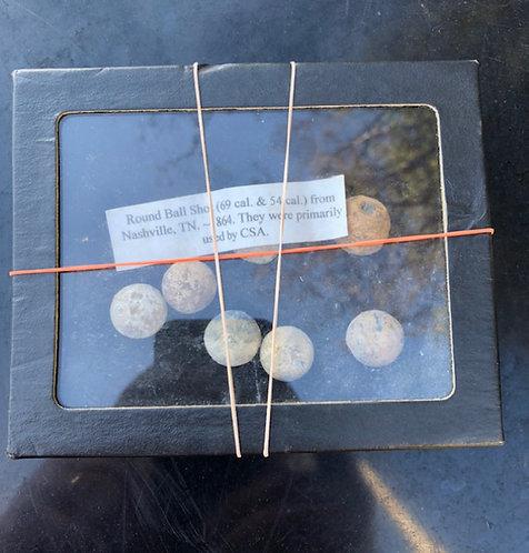 Civil War Musket Balls