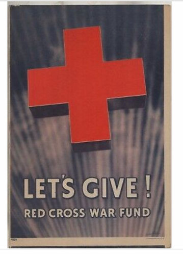 WWII Red Cross War Fund Let's Give