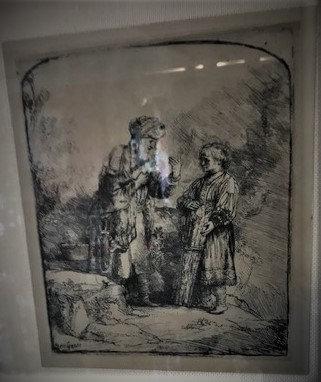 Rembrandt Engraving