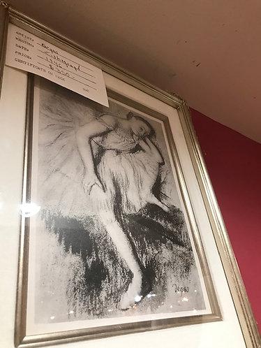Degas Lithograph