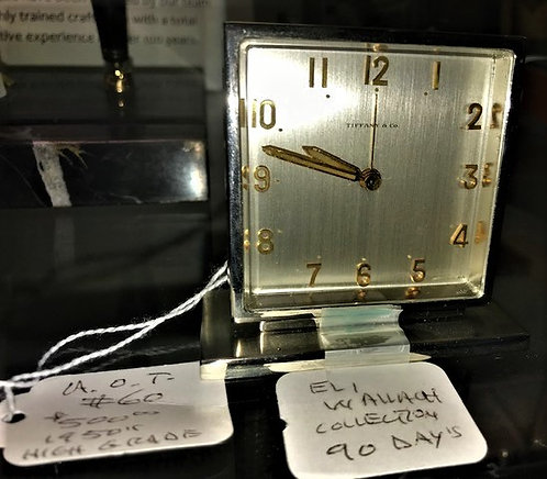 Eli Wallach Desk Clock