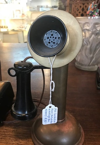 Candlestick Phone w/Ringer Box
