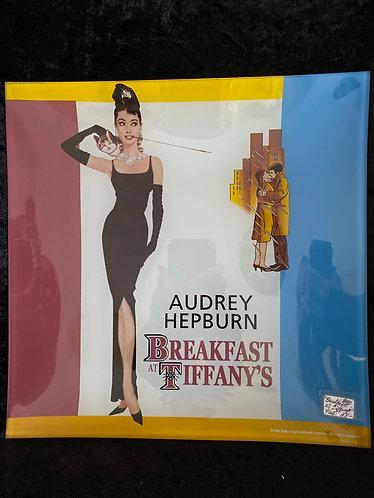Breakfast at Tiffany's Plate