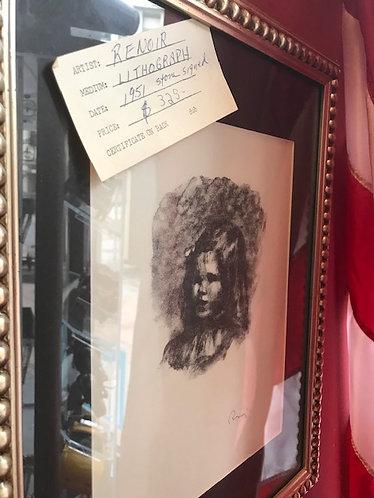 Renoir Lithograph
