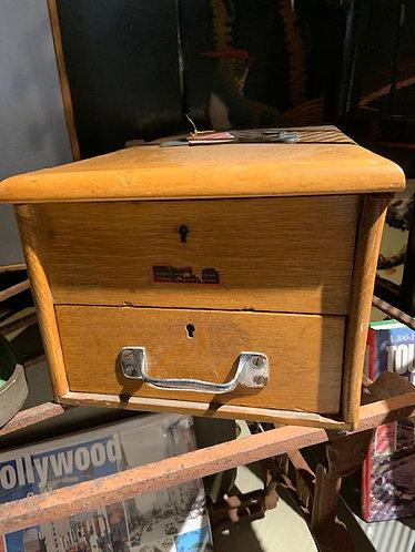 Antique Oak Cash Drawer