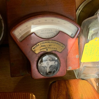 Antique Ammeter