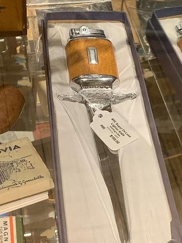 Cigar Lighter Knife/Letter opener
