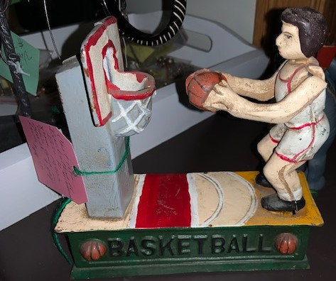 Mechanical Basketball Bank