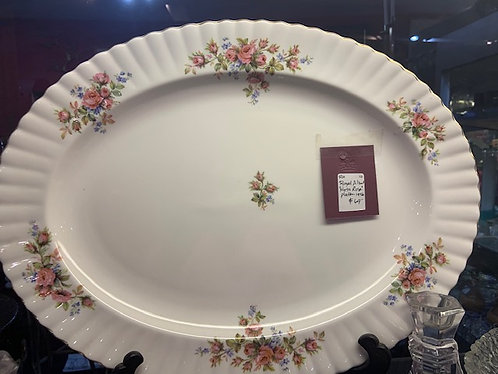 "Royal Albert ""Moss Rose"" Platter"