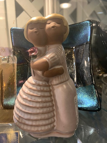 """Jie Gantofla """"Hug"""" Figures by Edith Risberg"""
