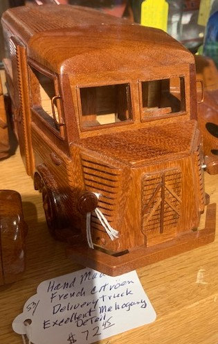 Wooden Delivery Truck