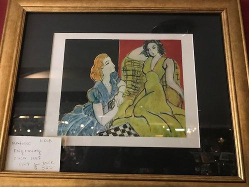 Matisse Engraving