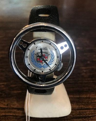 Cadillac Steering Wheel Watch