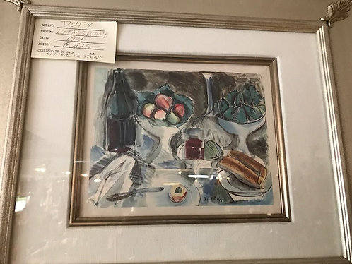 Signed Dufy Lithograph