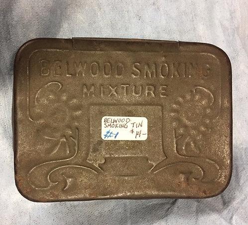 Belwood Smoking Tobacco Tin