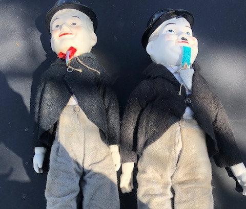 Laurel & Hardy Dolls