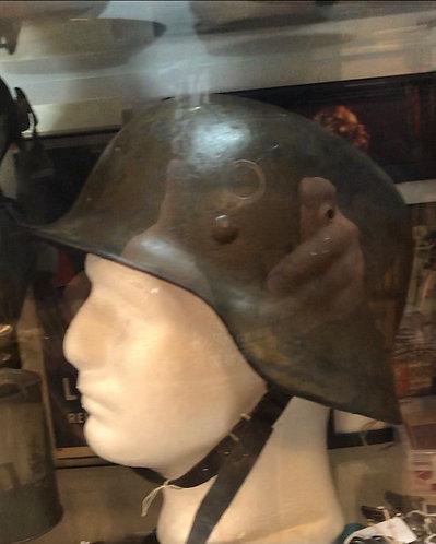 WWII German Nazi Helmet w/Head Liner