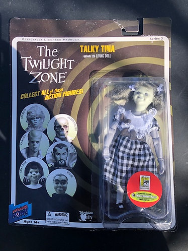 "Twilight Zone ""Talky Tina"" Doll"