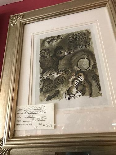 Chagall Engraving