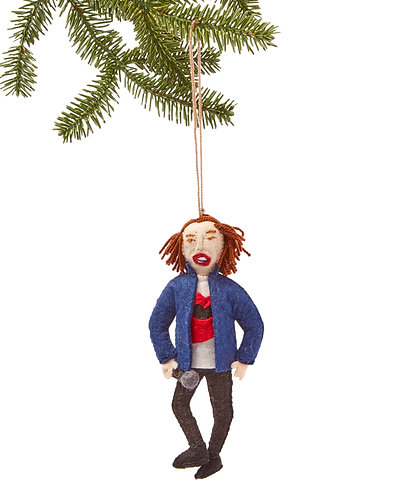 Mick Jagger Ornament