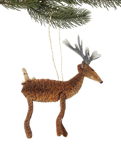 Bottle Brush Reindeer