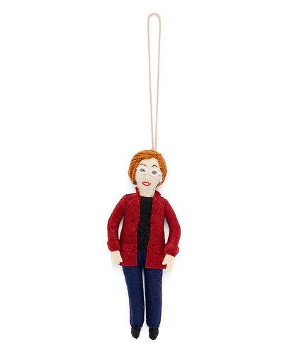 Elizabeth Warren Ornament