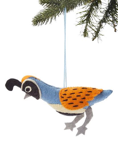 Quail Ornament