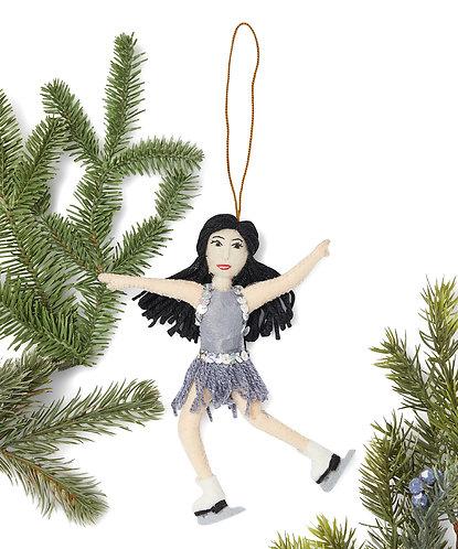 Kristi Yamaguchi Ornament